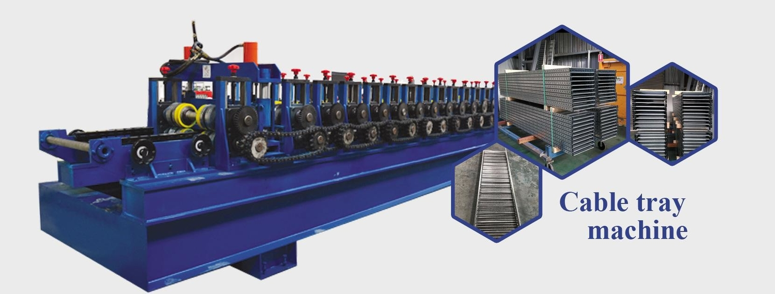 China best Cable Tray Roll Forming Machine on sales