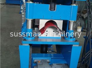 China Hydraulic Cutting Ridge Capping Roll Forming Equipment with PLC Control System supplier
