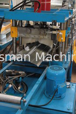 China 0.3mm - 0.8mm High Speed Ridge Cap Roll Forming Machine 380V 50HZ 3 Phase supplier