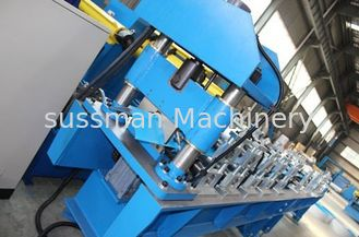 China 16 stations Forming Stations 5-10m/min Ridge Cap Roll Forming Machine 4Kw motor supplier