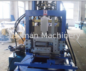 China CE Certificated CZ Purlin Roll Forming Machine , Roll Former Machine supplier