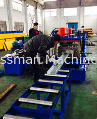 China GCr15 CZ Purlin Roll Forming Machine / Metal Roll Forming Equipment  2mm-3mm Thick supplier