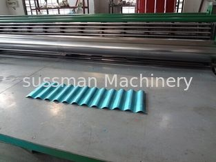 China 0.15mm-0.3mm Thin Type Galvanized Roofing Sheet Roll Forming Machine supplier