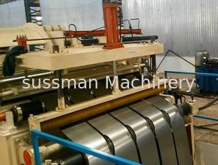 Full Automatic Stainless Steel Slitting Lines High Speed 120m/min