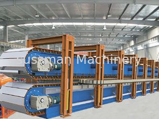 China Discontinuous PU Sandwich Panel Production Line PU High Pressure Pre - expander supplier