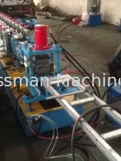 China Hydraulic Quick Punching Metal Shutter Door Roll Forming Machine Single Profile Holes supplier
