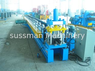 3 Ton Passive Decoiler Hydraulic Punching Roll Forming Equipment Automatic