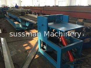 China Gearbox Transmission Door Frame Roll Forming Machine High Speed supplier