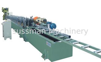 China 22 Forming Stations Octagonal Tube Making Machine Continuous Flying Saw Cutting Gearbox Transmission supplier