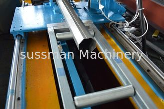 Galvanized Steel  60MM 70MM Octagon Pipe Shutter Door Roll Forming Machine High Speed Customized