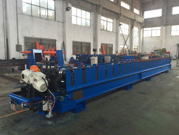 China 27 Rolling Stations Metal Slats Roll Forming Machine , Cold Roll Former HRC 58 - 62 supplier