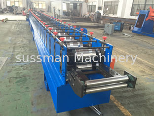 China 12 Stations Cold Roll Former PLC For Metal Shutter Door Production supplier