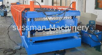 China Forming Speed 8-12m/min Double Layer Roll Forming Machine Shaft Diameter 76mm supplier