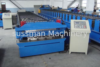 5 Ton Passive Decoiler Double Layer Roll Forming Machine 20 Station Roller