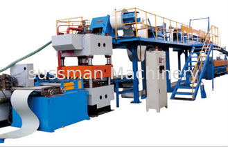 China Automatic Stacker Double Belt Speed Polyurethane Sandwich Panel Manufacturing Line supplier