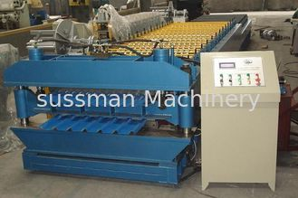 China IBR Sheet / Corrugated Double Layer Roll Forming Machine Thickness 0.25mm-0.8mm supplier