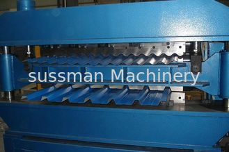 18 Roller Stations Double Layer Roll Forming Machine Steel Thickness 0.3 - 3.0 mm