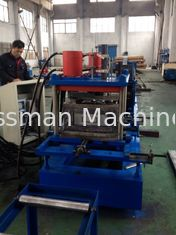 Heavy Duty Warehouse Shelving Rack Beam Roll Forming Machine With Seaming