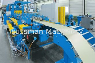 China Panasonic / Japan Touch Screen Cable Tray Roll Forming Machine 12 Months Warranty supplier