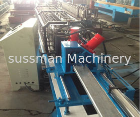 China 20 - 25m/min High Speed Curtain Rail Roll Forming Equipment 1.5Kw Servo Motor supplier