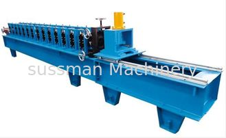 China 2 inches Guide Rail Roll Forming Machine Material Thickness 1.5-2mm 12 Stations supplier
