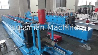 China 3 Ton Passive Decoiler Supportive Rail Roll Forming Machinery PLC Panasonic supplier