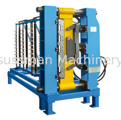 China 0.4 - 0.8mm Thickness Custom Roof Panel Roll Forming Machine For Roof Tile supplier