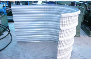 China Galvanized steel sheet Roll Forming Equipment Gcr15 Quench Plated Chrome Roller supplier