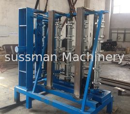 China 2.2Kw Metal Roof Panel Roll Forming Machine Main Motor Power 120 Max Curving Degree supplier