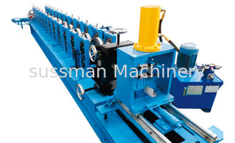 China High Speed 20 Stations Shutter Door Roll Forming Machine 1.2mm Steel Octagon Pipe supplier