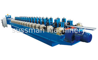 China 18 Stations 7.5Kw Hydraulic Power Sheet Metal Roll Forming Machines 12 - 15 m / min supplier