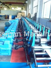 China Fully Automatic 41X41 Standard Strut Channel Roll Forming Machine with PLC Panasonic supplier