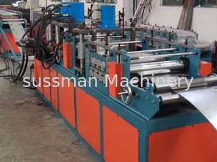 China 100*100 Min 1000*1200 Max 5 Tons Passive decoiler Fire Damper Roll Forming Machine PLC Control supplier
