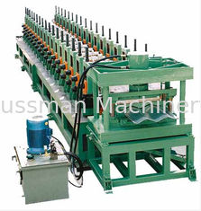 China Automatic 5.5Kw Hydraulic Power Anode Plate Roll Forming Equipment PLC Control System supplier