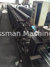 China Galvanized Steel Metal Roll Forming Equipment Air Conditioning Guide Panel supplier