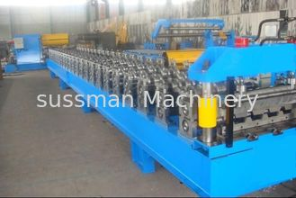 China Customize Steel Double Layer Roll Forming Machine , Corrugated Metal Roofing Machines supplier