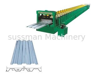 China 28 Stations HRC58 - 62 Corrugated Roll Forming Machine Durable Reliable supplier