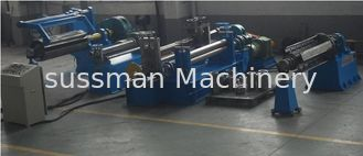 China 1250mm Max Coil Width Automatic Slitting Machine PLC Control System supplier