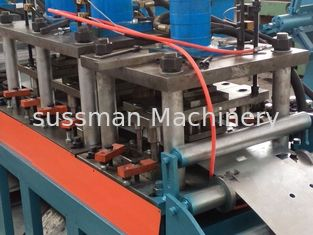 China 16 stations Froming Stage Galvanized Steel Fire Damper Roll Forming Machine Frame thickness 1.5-2.0mm supplier