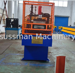 China High Speed Downspout Roll Forming Machine Seamless Valley Gutter Making Machine supplier