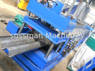 China 2-4mm Galvanized Steel Two wave W Beam Highway Guardrail Roll Forming Equipment PLC Control Automatic supplier