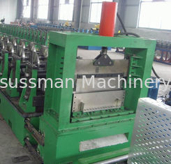 Galvanized Steel Cable Tray Roll Forming Machine Perforated Type 100-600mm