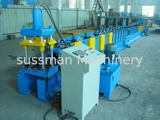 China High Speed Door Panel Roll Forming Machine For Door Window Frame 18 steps of Forming supplier