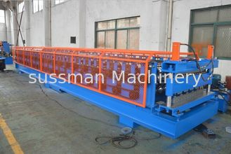 China Roof And Wall Panel Double Layer Roll Forming Machine With 18 Groups Of Roller Stations supplier