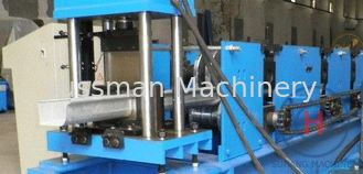 China Roof Ridge Cap Roller Making Machine Single Chain 7.5Kw Standing Seam Roll Former supplier