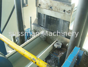 China 15m / Minute Roof Ridge Cap Roll Forming Machine Material Thickness 0.3 - 0.6mm supplier