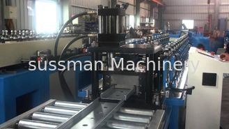 China PLC control Automatic Zinc Steel  Roll Forming Equipment Line For Smoke Damper Product supplier
