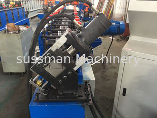 China High Precision 4KW Stud Roll Forming Machine For Light Steel Roof Ceiling Batten supplier