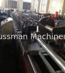 7.5KW Shutter Door Roll Forming Machine GCr15 Steel Roller Blind Tube Production Line
