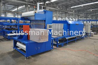 China High Speed PU Sandwich Panel Production Line , Polyurethane Sandwich Panel Line supplier